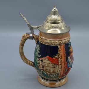 Barrell Style Beer Stein